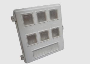 优质塑钢6户表箱