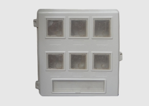 塑钢6户表箱供应